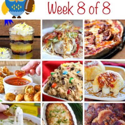 Tailgating Food Ideas Week 8