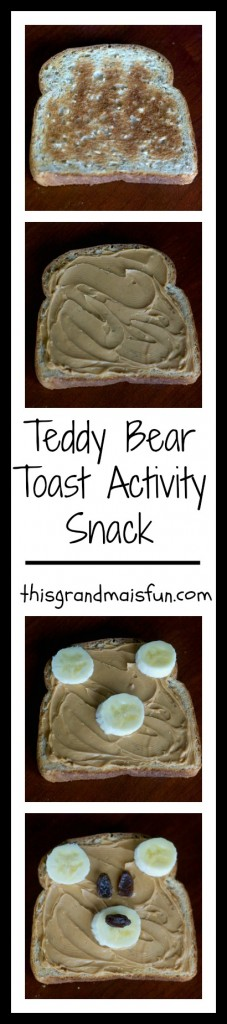 This is a fun activity to do with kids that are around 3-5 years old. They love playing and they end up with a healthy treat!