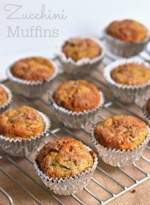 Delicious Zucchini Muffins, perfect way to calm your hunger.