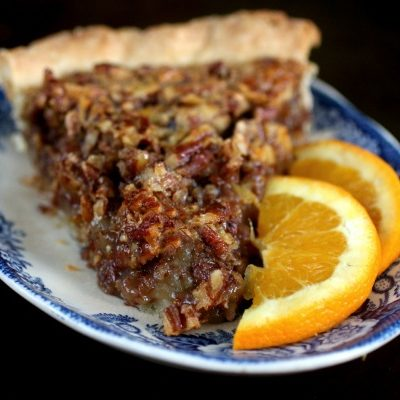 Orange Spice Pecan Pie