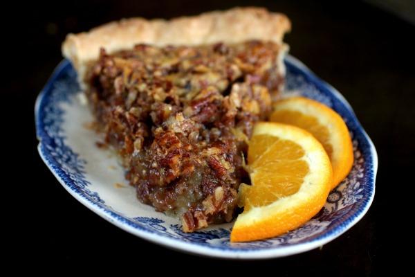 This orange spice pecan pie recipe is unique and yummy.
