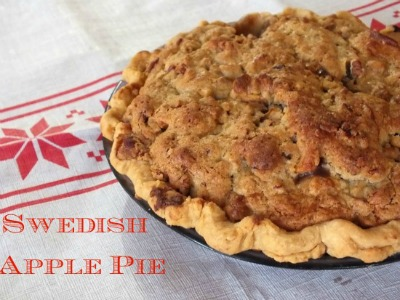Swedish Apple pie from Restless Chipotle.