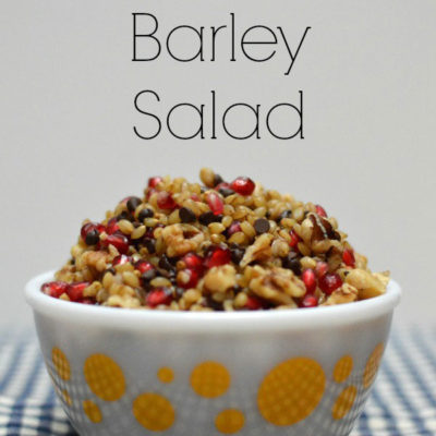 Sweet Barley Salad