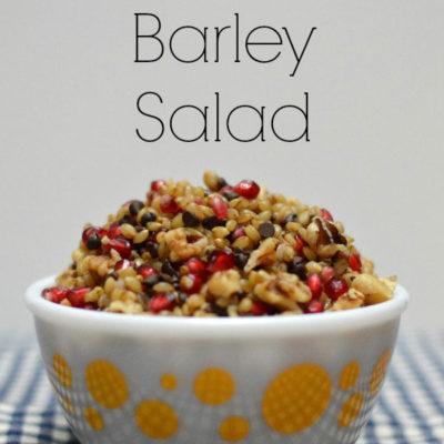 Sweet Barley Salad