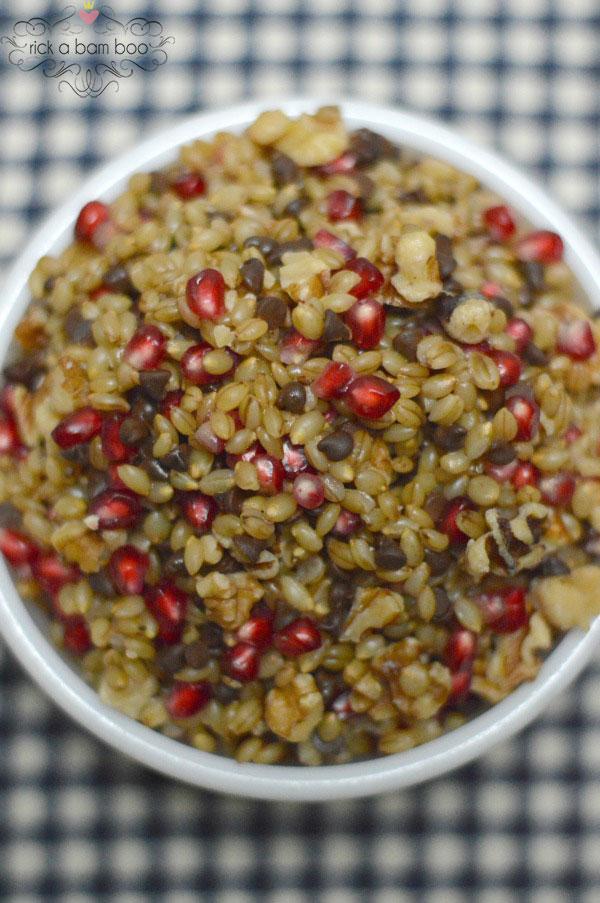 Sweet Barley Salad Recipe