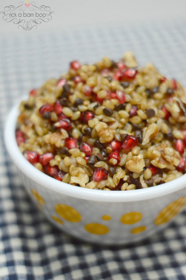 Sweet Barley Salad Recipe