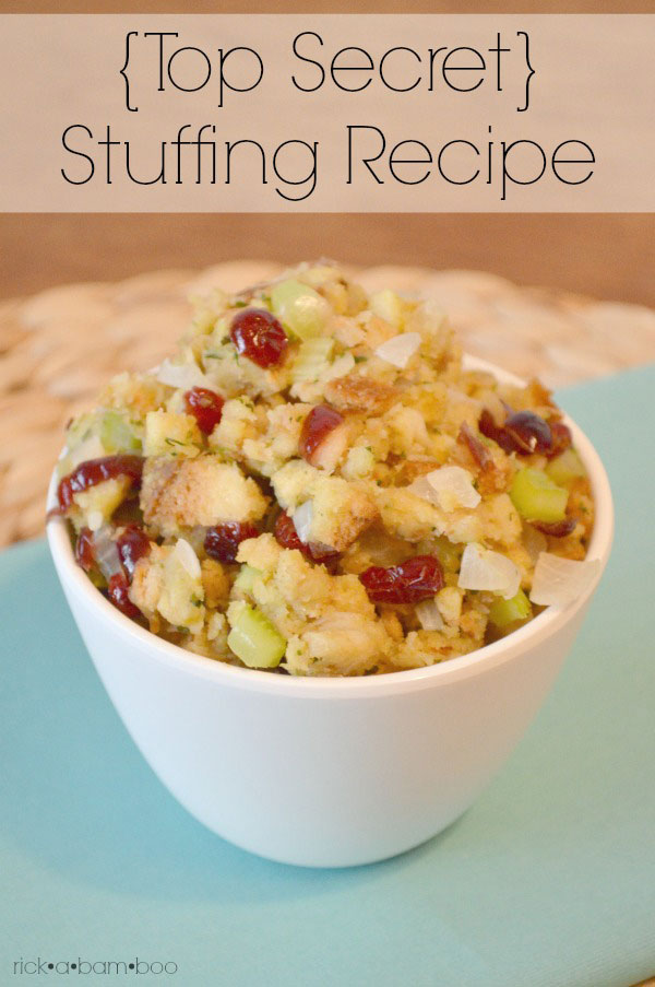 {TOP SECRET} Stuffing Recipe