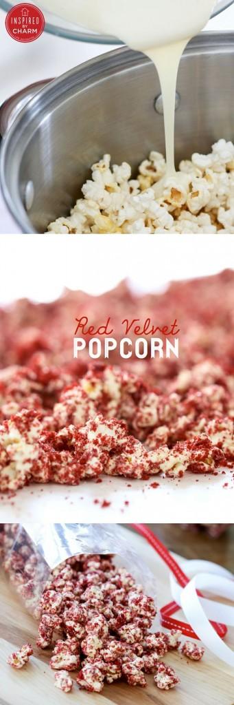 Red Velvety Popcorn