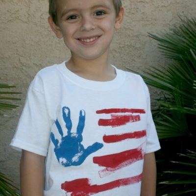 DIY 4th of July Kids Tee Shirts