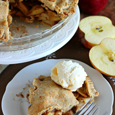 Healthy Homemade Apple Pie