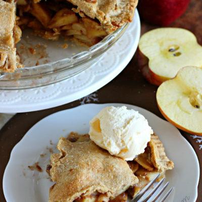 Healthy Homemade Apple Pie