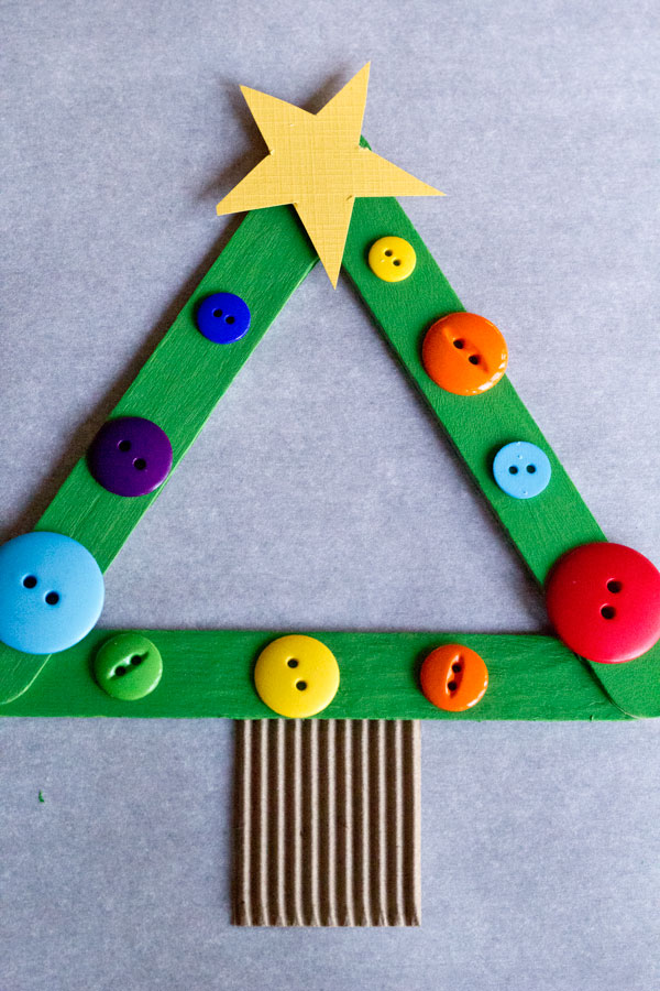 Button-On-Christmas-Stick