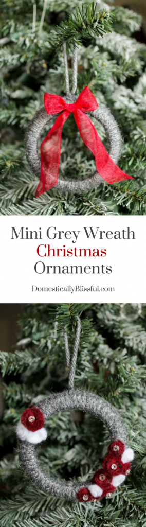 Create-these-adorable-Mini-Grey-Wreath-Christmas-Ornaments-from-soft-yarn-for-your-Christmas-tree-this-year-Plus-there-is-a-tip-on-how-to-make-these-mini-wreaths-while-repurposing-upcycling