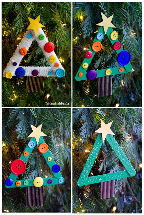 diy kids christmas tree ornament you are going to love creating these diy kids christmas tree