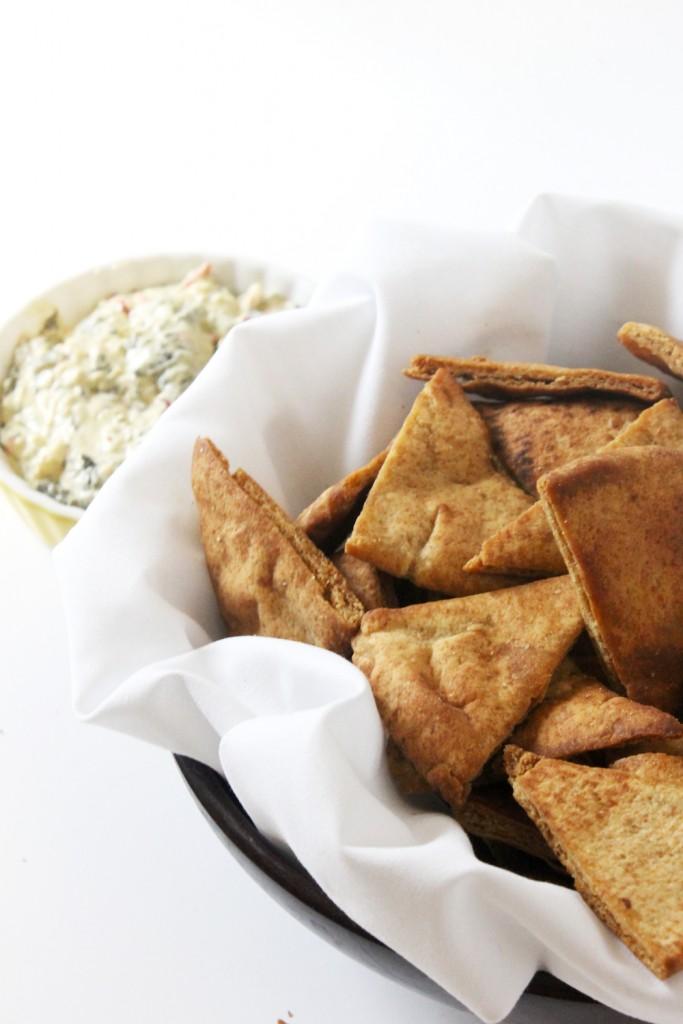 Easy Homemade Pita Chips - TGIF - This Grandma is Fun