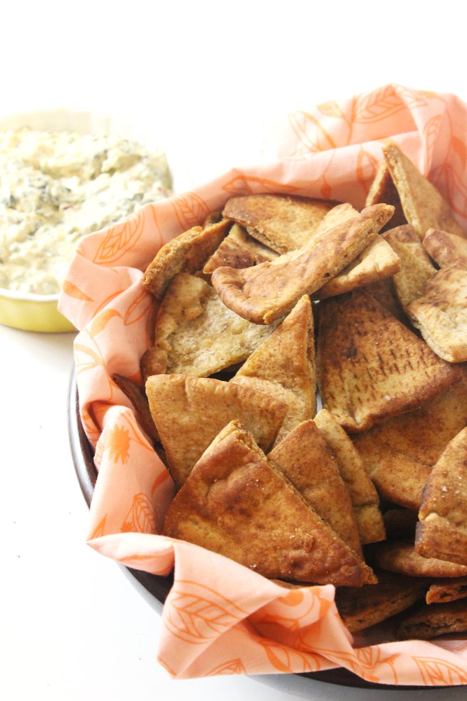 Easy Homemade Pita Chips - Made From Pinterest