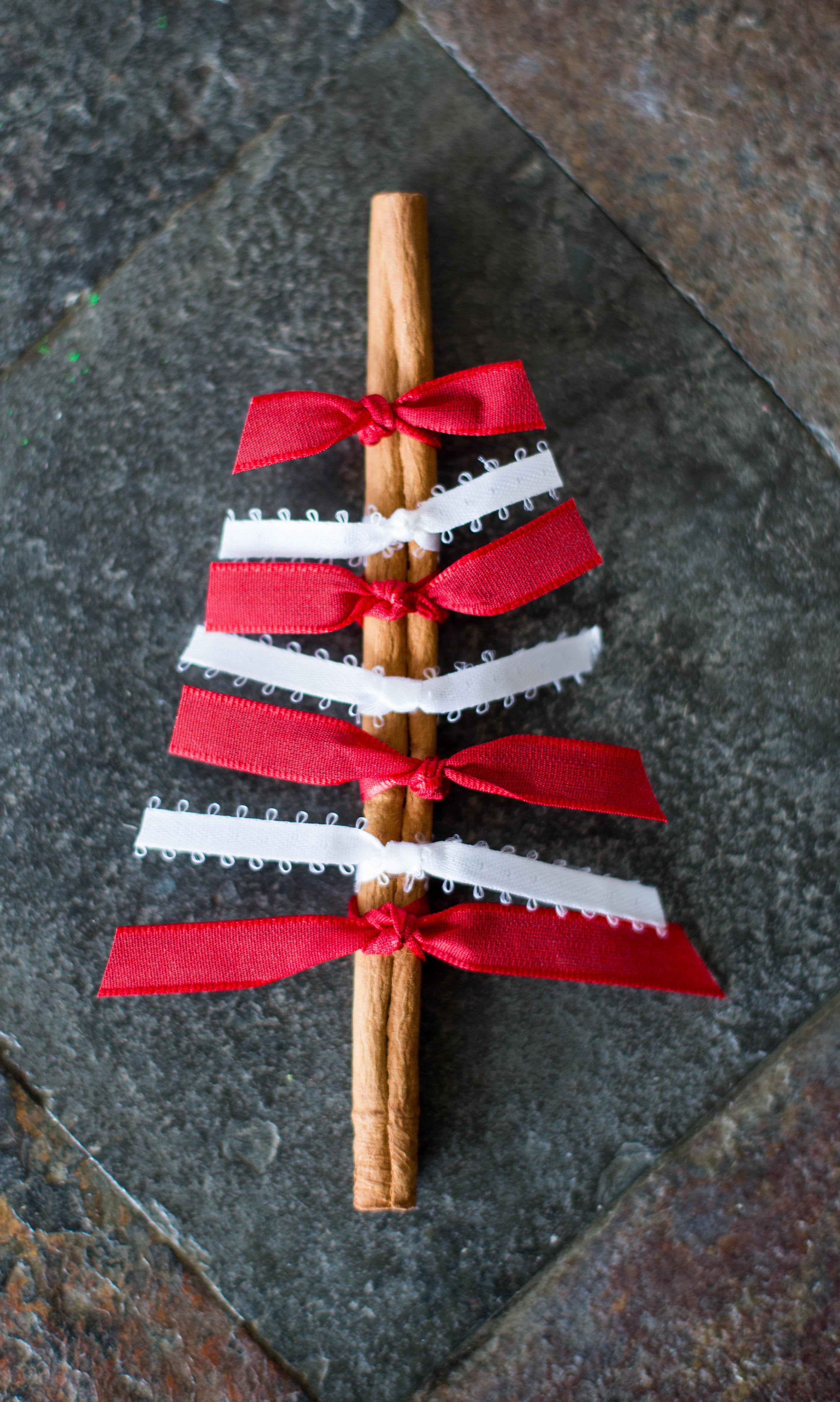 Cinnamon Stick Christmas Ornament - artzycreations.com