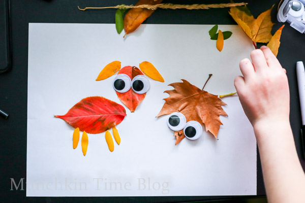 Leaf craft for kids -- www.munchkintime.com-2