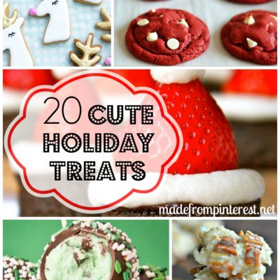 20 Cute Holiday Treats