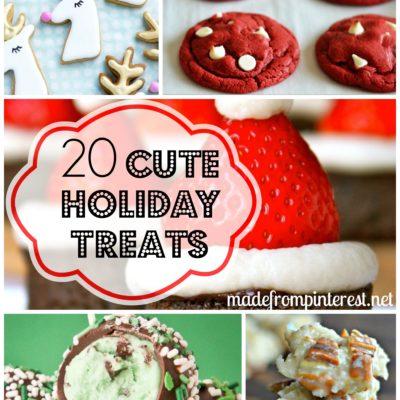 20 Cute Holiday Treats