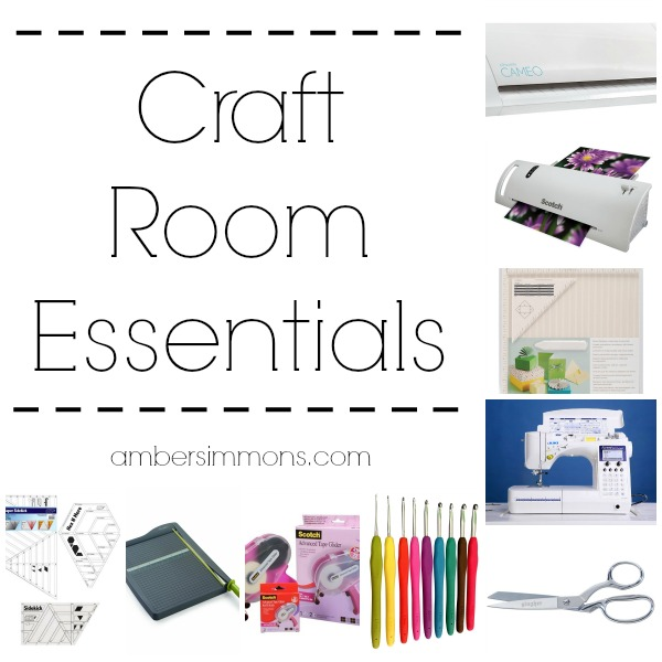 This craft room essentials guide includes everything that the crafter in your life could want.