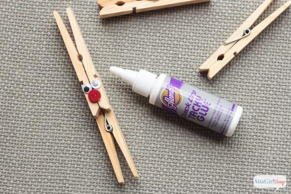 DIY Reindeer Clothespin Ornaments - TGIF - This Grandma is Fun