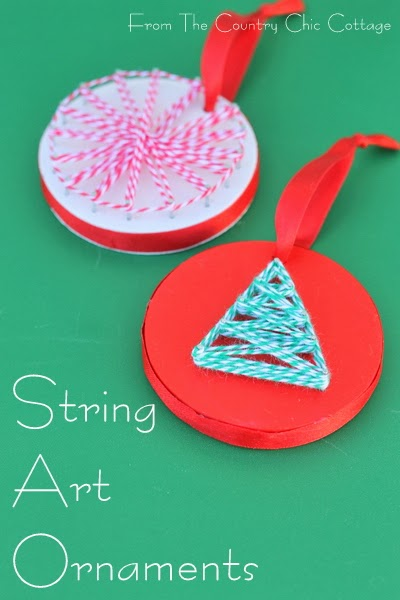 string art ornaments final