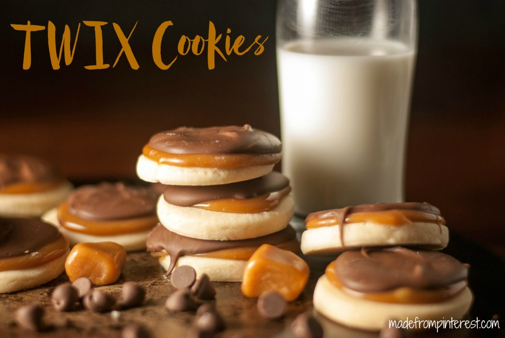 With a flaky, buttery cookie, below the chewy caramel and milk chcolate, these TWIX Cookies are bound to become a new favorite