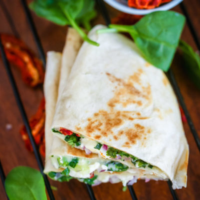 Healthy Greek Quesadilla Recipe