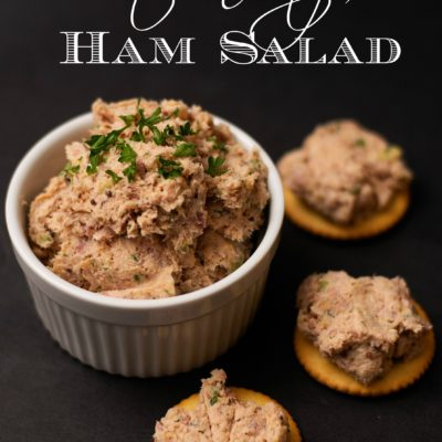 Southern Style Ham Salad Recipe