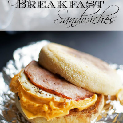 Easy to Make Breakfast Sandwiches