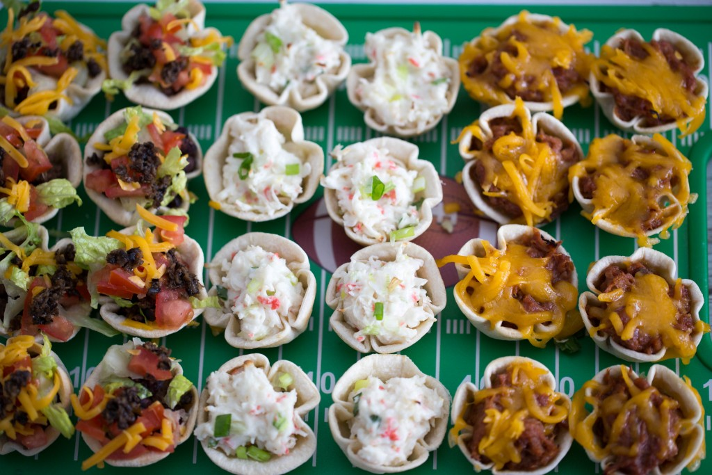 Tortilla cup appetizers and a giveaway tgif this for Canape cup fillings