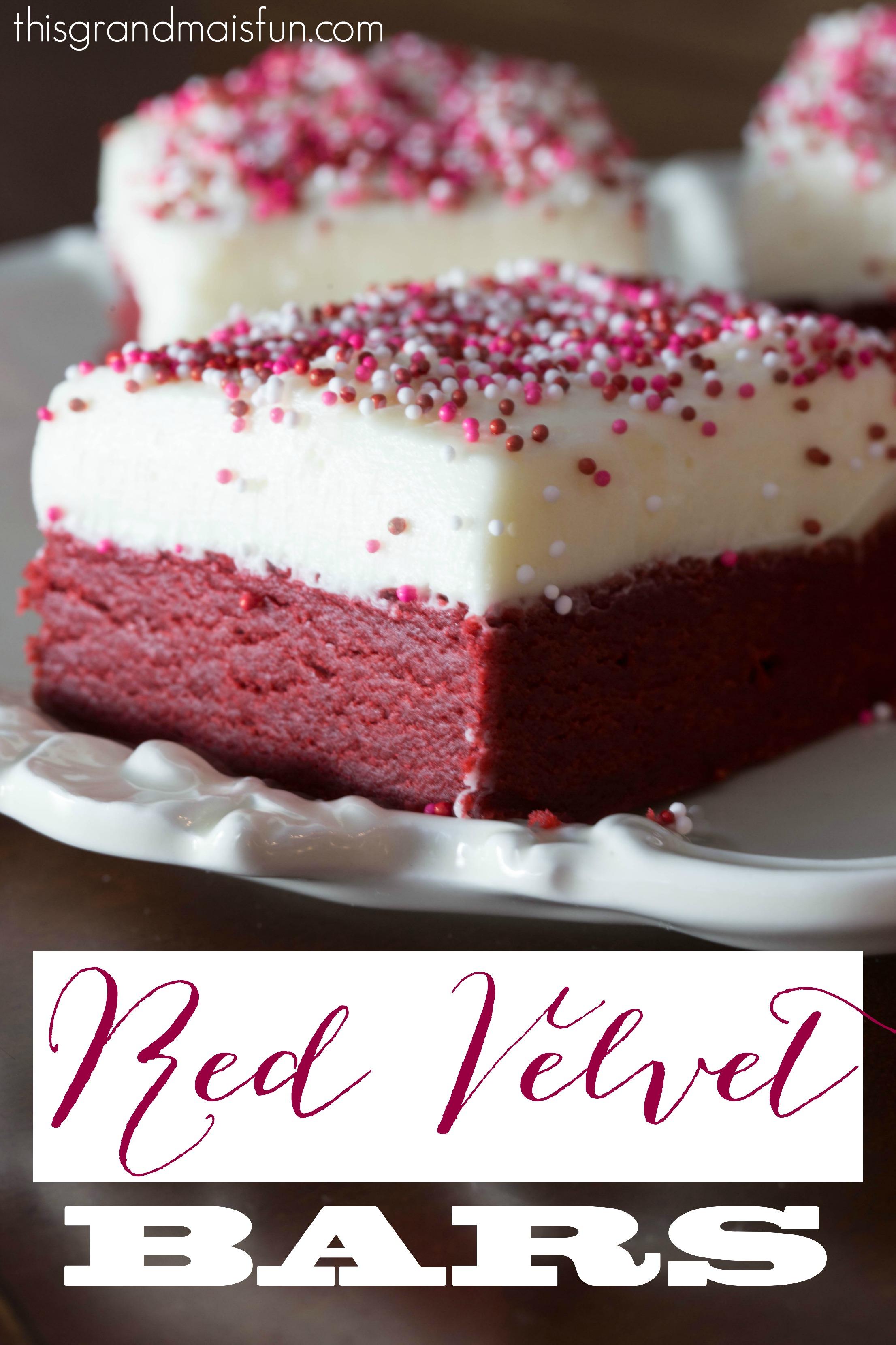 Red Velvet Bars Tgif This Grandma Is Fun