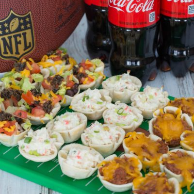 Tortilla Cup Appetizers and a Giveaway!