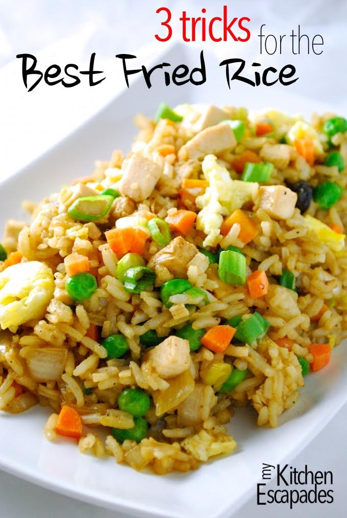 3 Tricks for Best Fried Rice