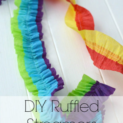 DIY Ruffled Streamers