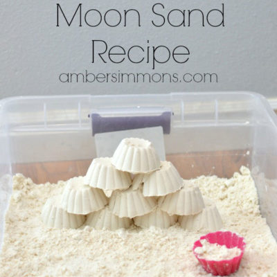 Homemade Moon Sand Recipe