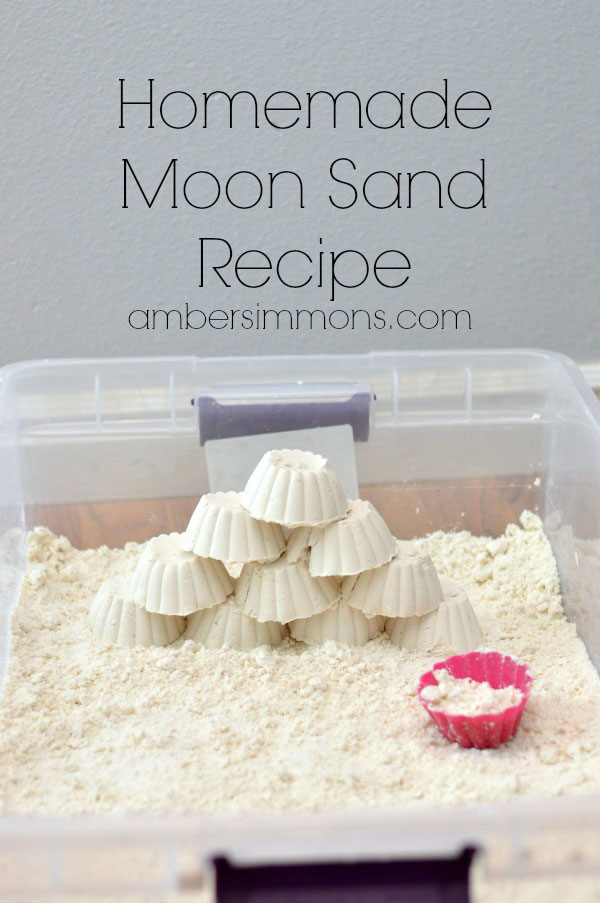 Homemade Moon Sand Recipe Tgif This Grandma Is Fun