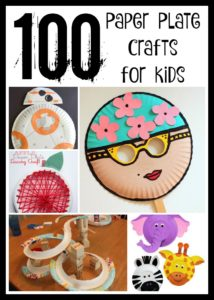 100 Delightful Paper Plate Crafts For Kids! - Keep the littles and even some of your teens busy with these creative paper plate craft ideas.