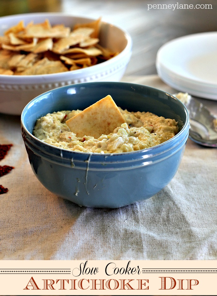 If you are looking for something that is easy and delicious, this artichoke dip is for you.
