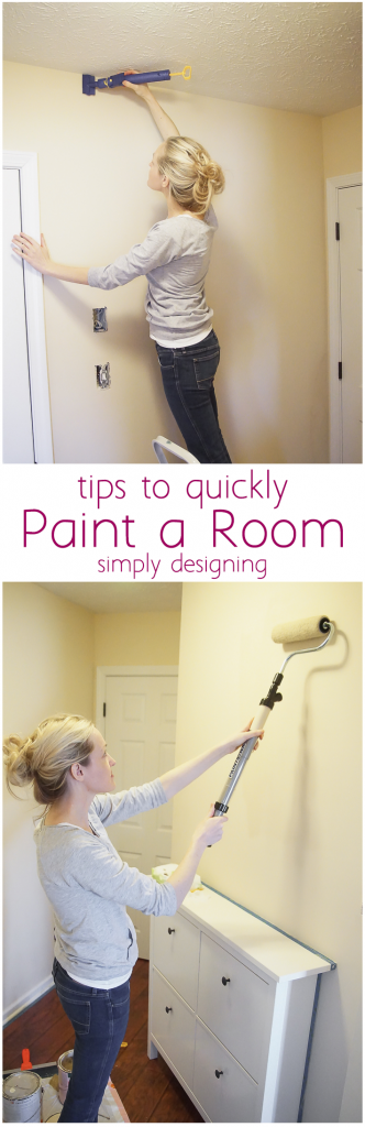 tips to quickly paint a room(1)