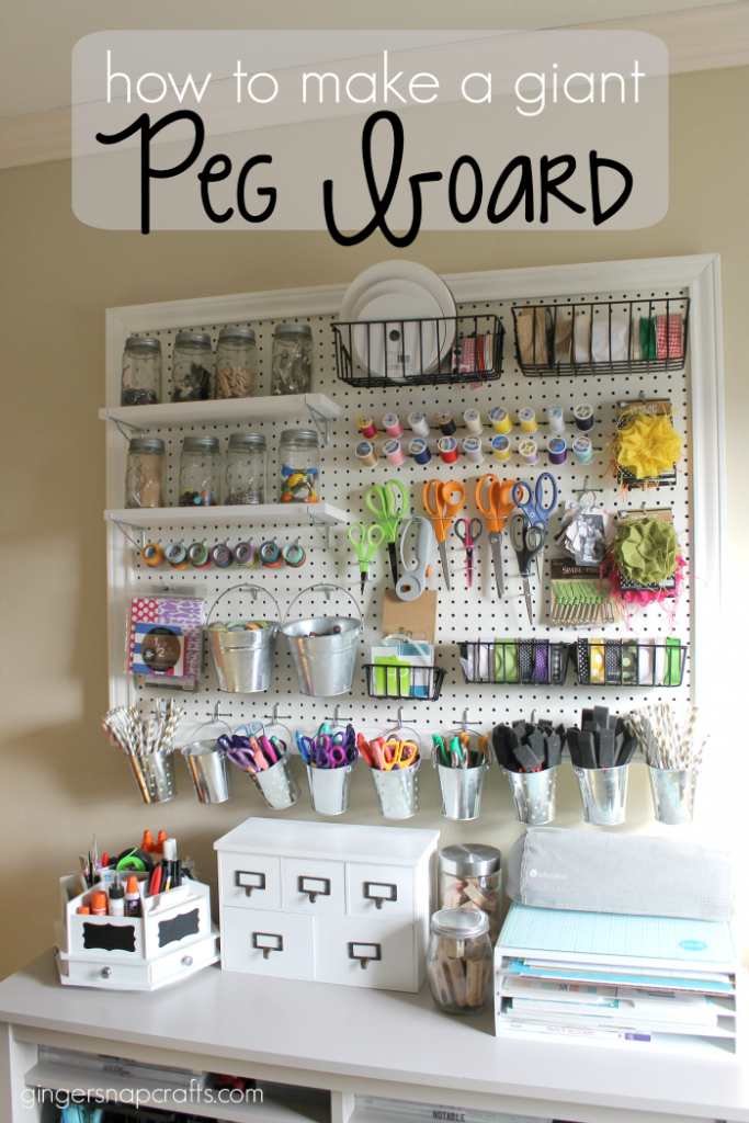How to make a giant peg board