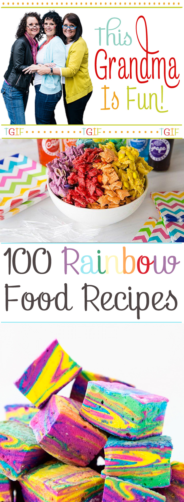 We have gathered 100 hundred delightful rainbow snacks, treats, and desserts you can make for your grandchildren. They are perfect for birthday parties celebrations and, of course, St. Patrick's day. St. Patrick's day just around the corner. Sneaky leprechauns will be busy avoiding the many traps set for them so they can make it to the pot of gold at the end of the rainbow!