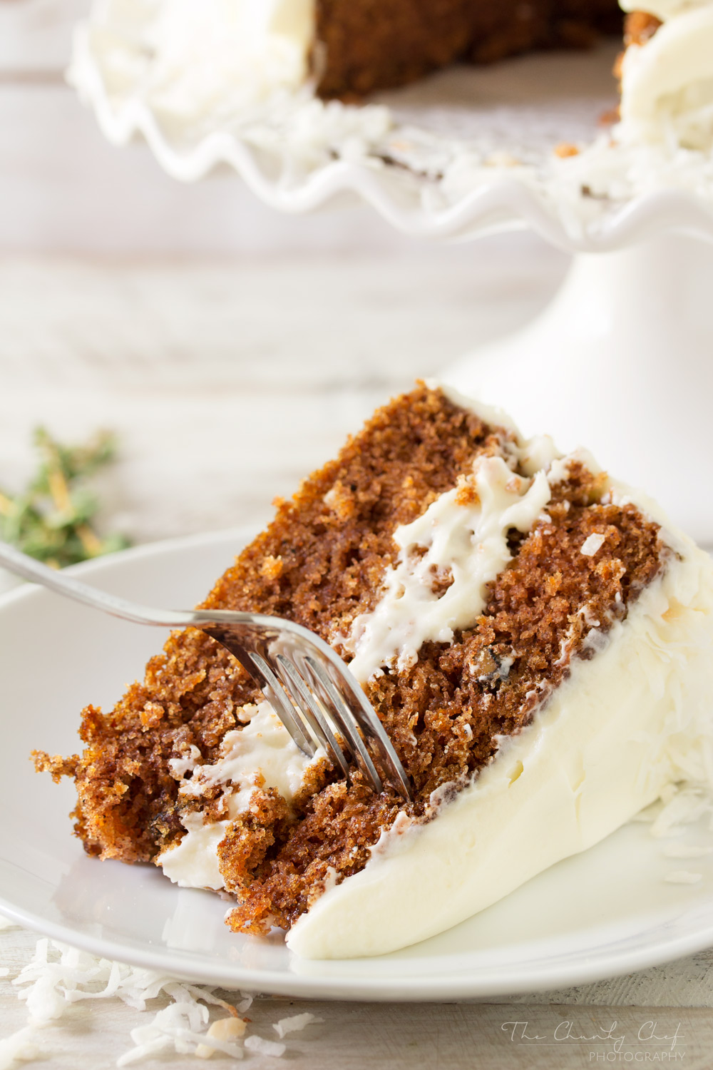 Carrot-Cake | This rich and decadent carrot cake will be an amazing addition to your parties! It's full of great flavors and slathered with the most amazing frosting!