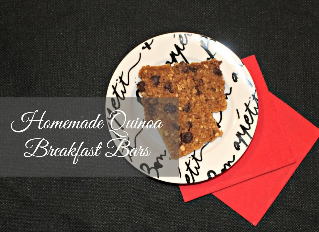 Homemade breakfast bar recipe