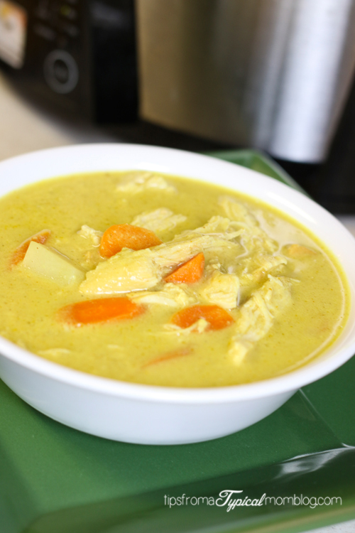5 Ingredient Chicken Curry Soup