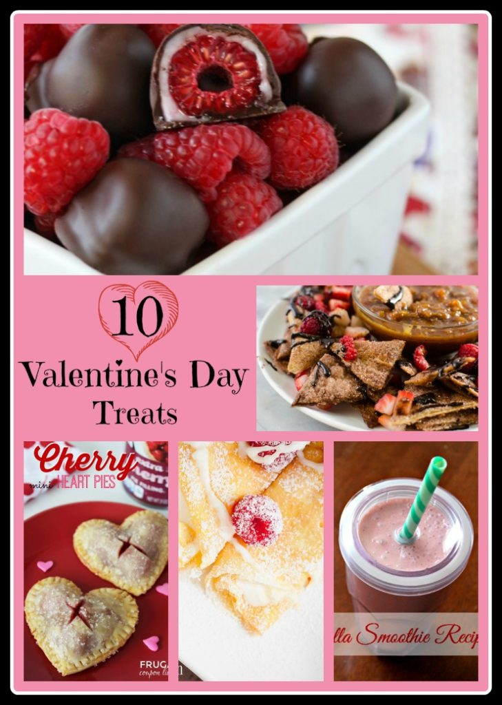 Valentine's Day is only two days away and you might not know what you want to do yet, but sometimes the best dates are the ones when you get to stay at home. These easy and yummy 10 Valentine's Day Treats are perfect if you want to keep Valentine's Day simple.