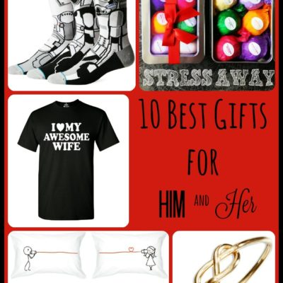10 Best Gifts for Him and Her