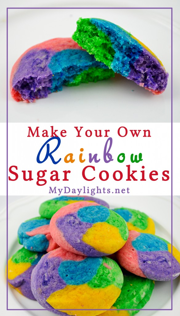 Rainbow Sugar Cookise Preview