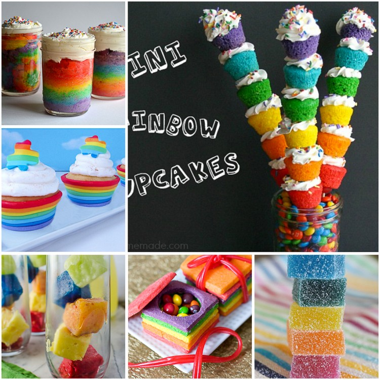 100 Rainbow Treat and Dessert Recipes - TGIF - This
